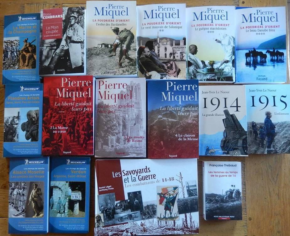 Livres achetés en avril 2015 par CHePP