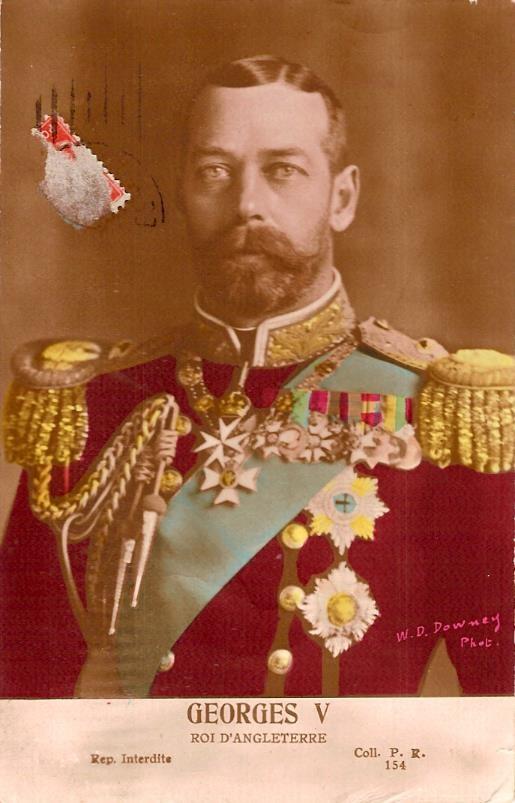 Carte « Georges V » (doc. Famille Devillaz)
