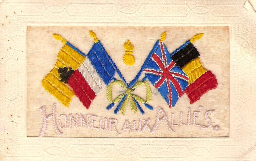 « Honneur aux Alliés » (doc. Famille Devillaz)