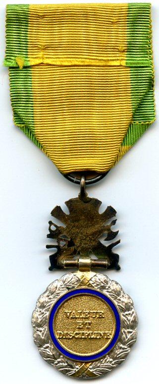Revers de la Médaille militaire