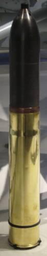Cartouche pour canon de 75 mm