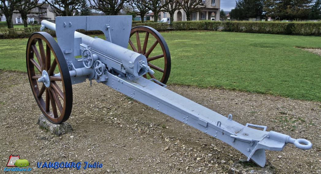 Canon de 75 (site fortiffsere de l'association séré de Rivières)
