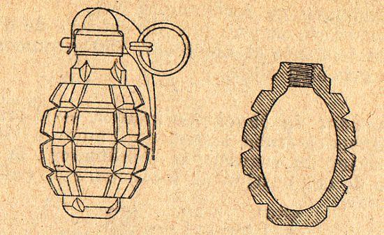 Grenade défensive F1 (site rosalielebel75)