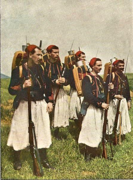 Zouaves lors de la bataille de la Marne (source : site rosalielebel75)