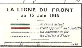 1915 06 15 front Vosges legende