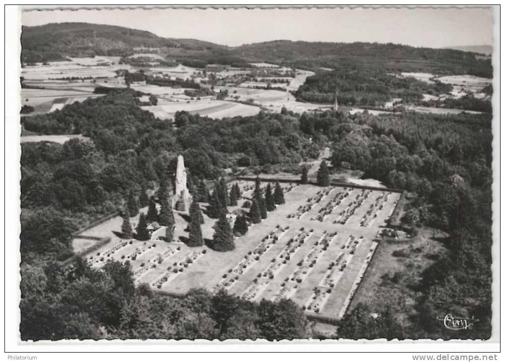 Ban-de-Sapt, cimetière de la Fontenelle, vue aérienne (site Delcampe)
