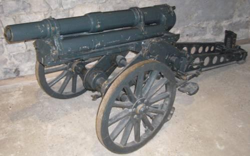 : Canon de 65 mm au Musée de l'Artillerie de Draguignan (site rosalielebel75)