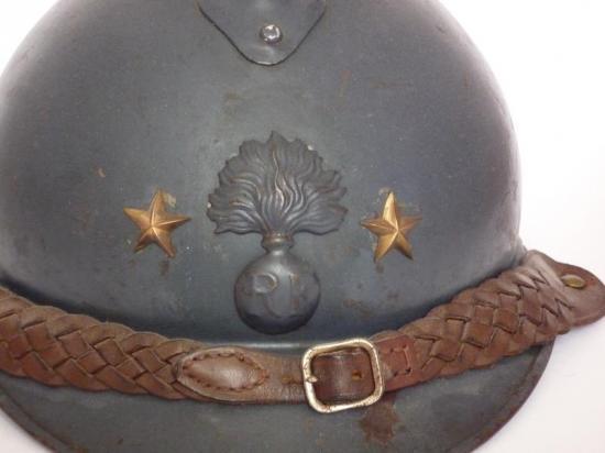 Casque Adrian d'un général d'infanterie 2 étoiles (site terraculturae.com)