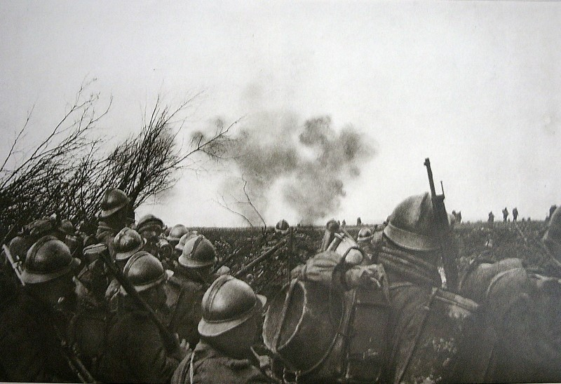 Le 92e R.I. au bois des Corbeaux, mars 1916 (site infomagazine)