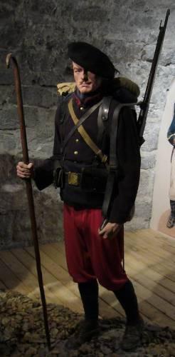 Soldat d'un régiment d'infanterie alpine (site rosalielebel75)