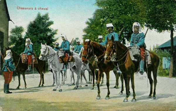 Chasseurs à cheval (site sambre-marne-yser.be)