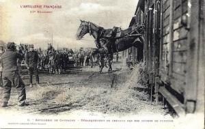 Débarquement des chevaux (Site resistanceinventerre)