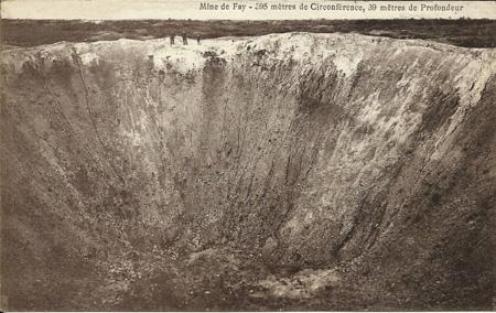 Mine de Faÿ : 205 mètres de circonférence, 39 mètres de profondeur