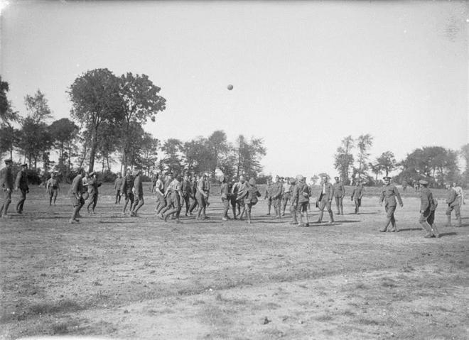 Un match de foot (Site ville-armentieres)