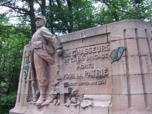 Monument du col de la Chipotte (site petit-patrimoine)