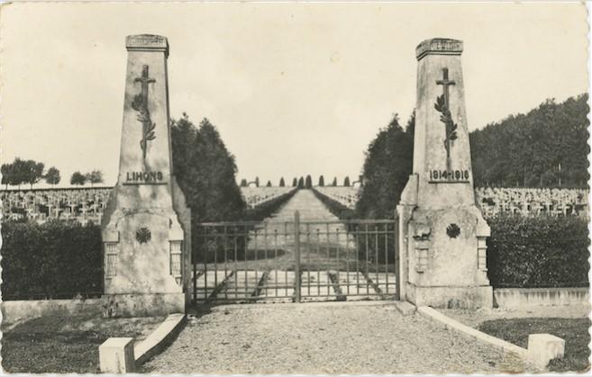 Entrée de la nécropole nationale de Lihons (site quemeneven1418)