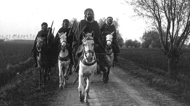 Patrouille de spahis marocains en Belgique, 1914 (site scrapironflotilla)