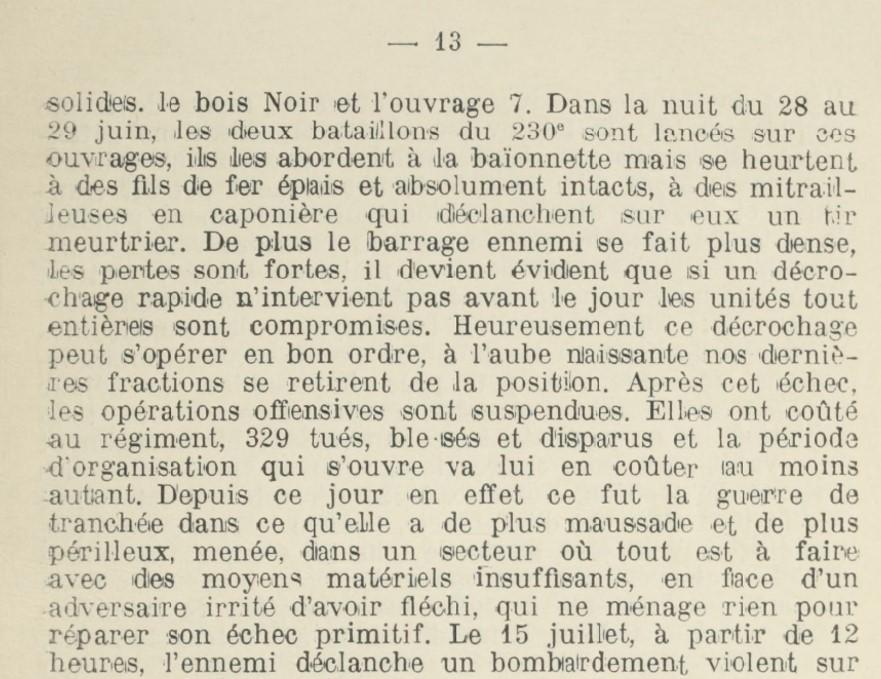 L'Historique du 230e R.I. précise pages 12 à 14 les circonstances des combats de Reillon et Leintrey : (Site gallica.bnf.fr) :