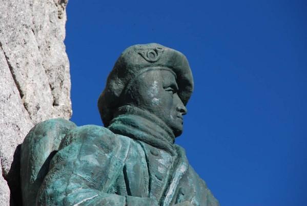 Grand Ballon (ou Ballon de Guebwiller) et monument des Diables bleus (site mes-photos-57400)