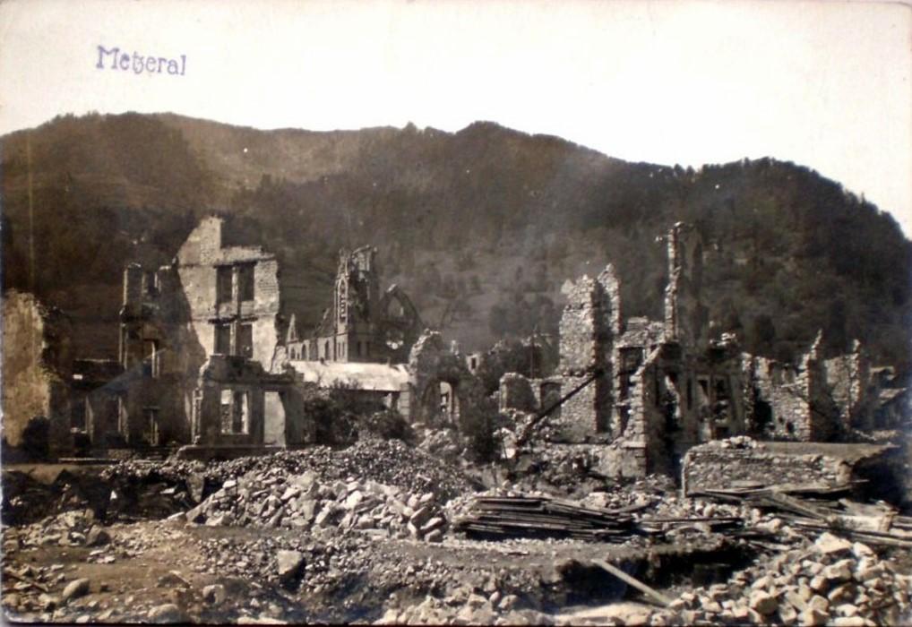Ruines de Metzeral (site Delcampe.net)