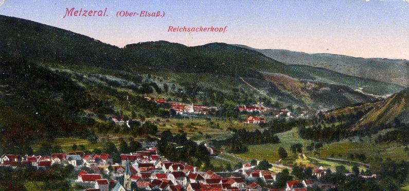 Le Reichackerkopf vu du sud (site kaiserscross.com)