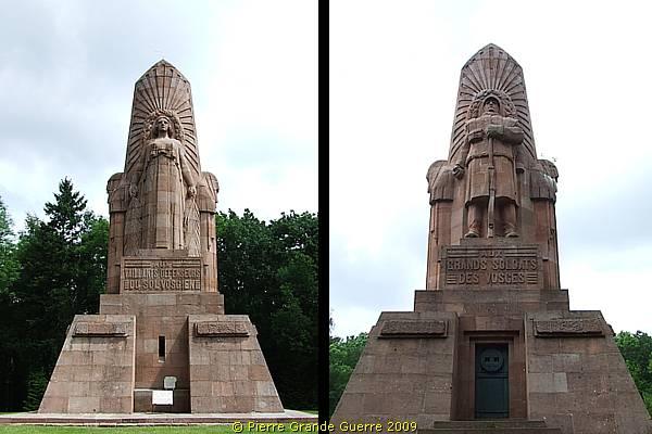 Nécropole nationale de La Fontenelle à Ban-de-Sapt , détail (site pierreswesternfront.punt.nl)
