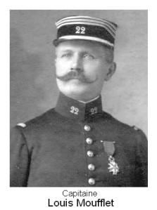 Le capitaine Louis Moufflet (site ufacbagnolet)