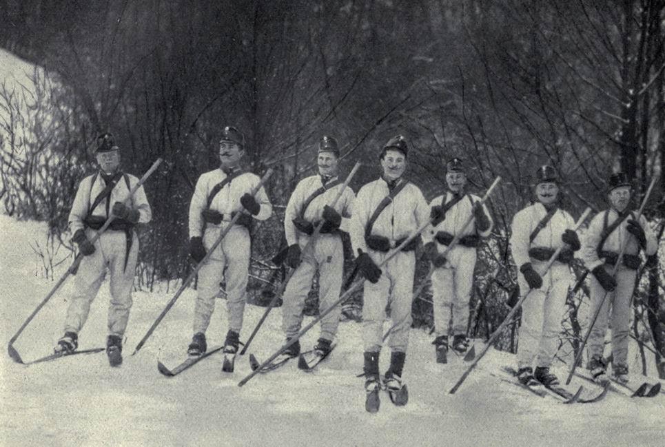 Chasseurs skieurs allemands (Internet)