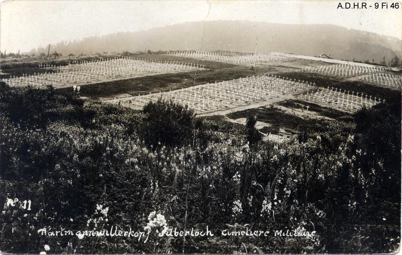 Hartmannswillerkopf : cimetière militaire du Silberloch (site front-vosges-14-18.eu)