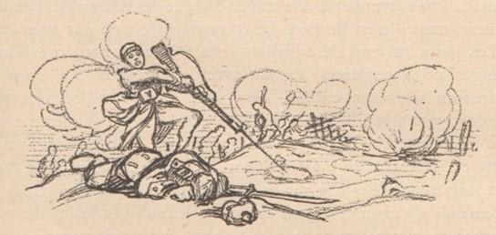 Dessin publié dans l'Historique du 133e RI, page 66 (site gallica.bnf.fr)