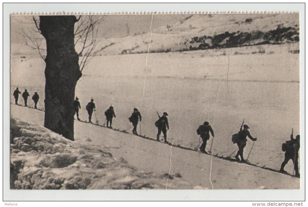 Entraînement des Eclaireurs-Skieurs, Georges Lang, Imp. Paris (site cparama.com)