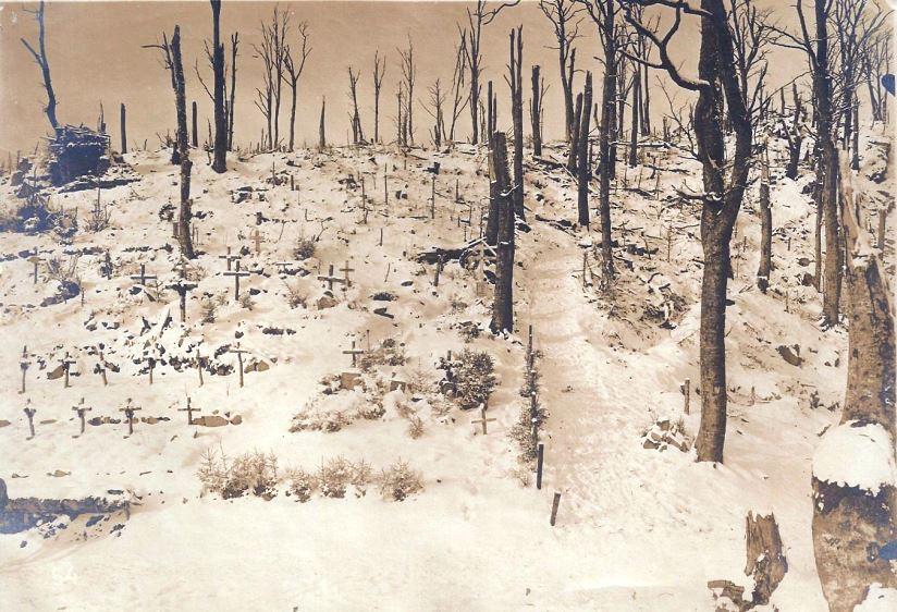 Le 9 janvier 1915 dans les Vosges (site ww1blog.osborneink.com)
