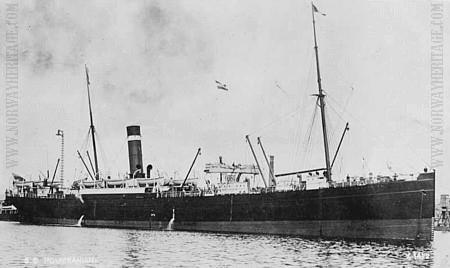 Le Poméranien, de la Allan Steamship Line Company (site chiensdetraineau.free)