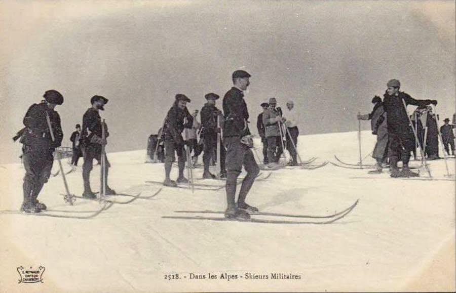 Skieurs militaires dans les Alpes (site ledauphine.com)