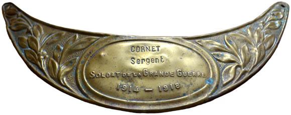 Plaquette souvenir (Source Internet)