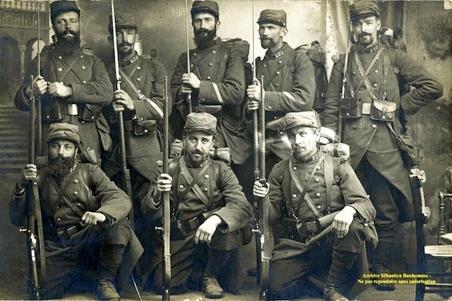 Soldats réservistes du 230e RI (site 1914-joseph-duchene)
