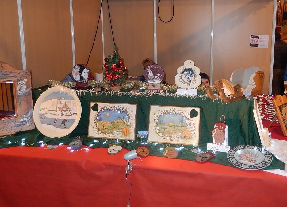 Marché Noel 2015 assiettes