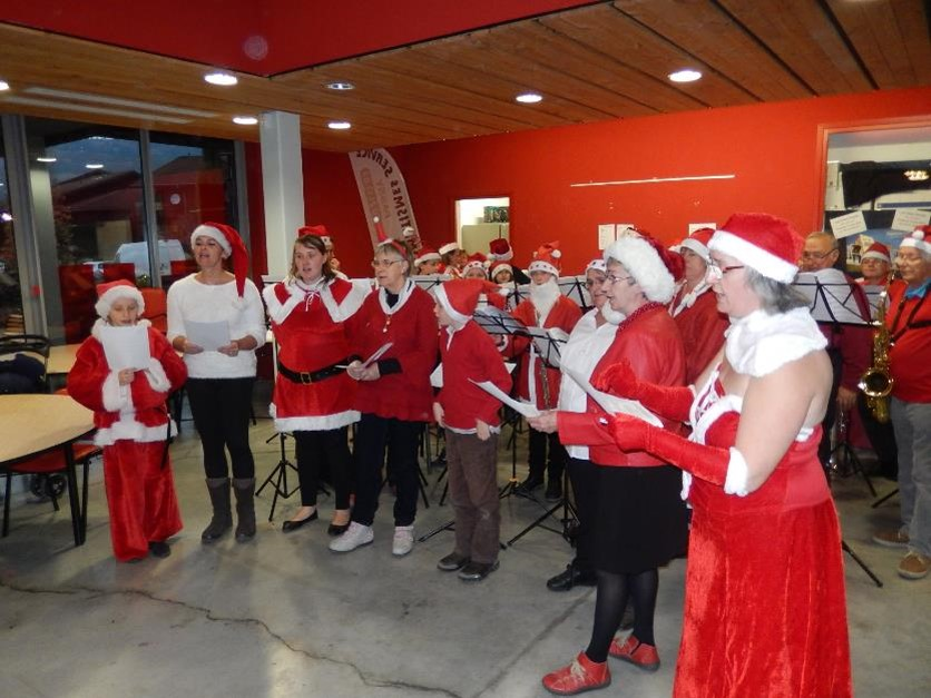 Marché Noel 2015 chorale