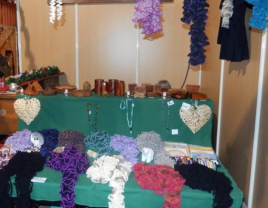 Marché Noel 2015 foulards
