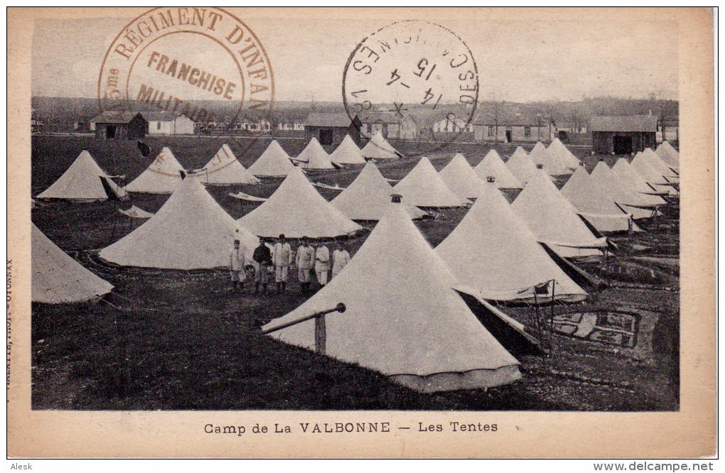 Camp de la Valbonne (site Delcampe.net)