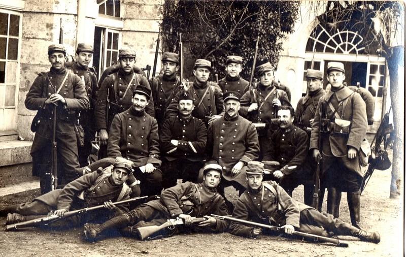 Photo du 26 avril 1915, envoyée de Chartres par un militaire du 30ème RI à sa famille (Site lagrandeguerre.cultureforum.net)