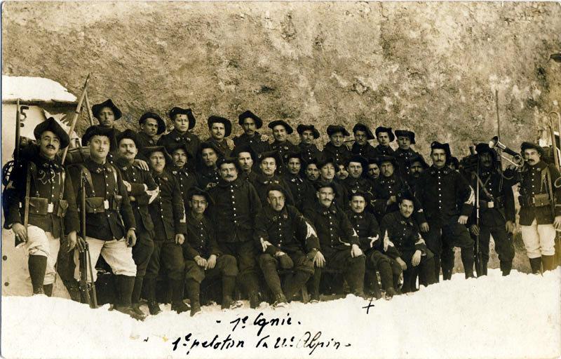 1ère Compagnie, 1er peloton du 22ème Alpin (site alpins.fr)