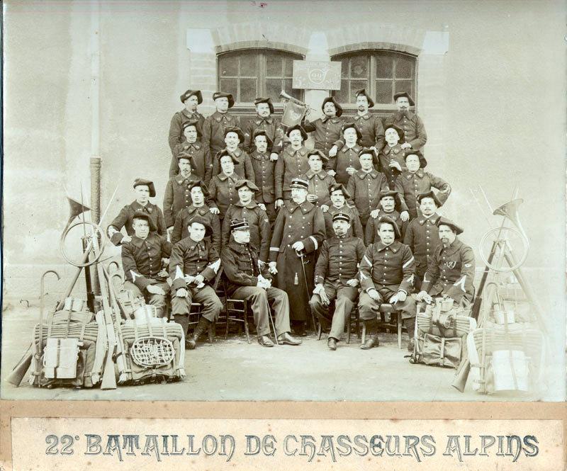 22e BCAP, 5eme compagnie (site alpins.fr)