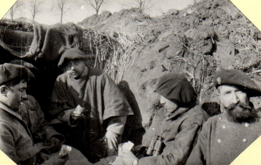Photo du 97e de Grenoble période 1916-1918 (Site lagrandeguerre.cultureforum.net)