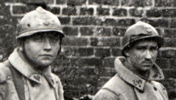 Des soldats du 99e RI, détail (site pages14-18)