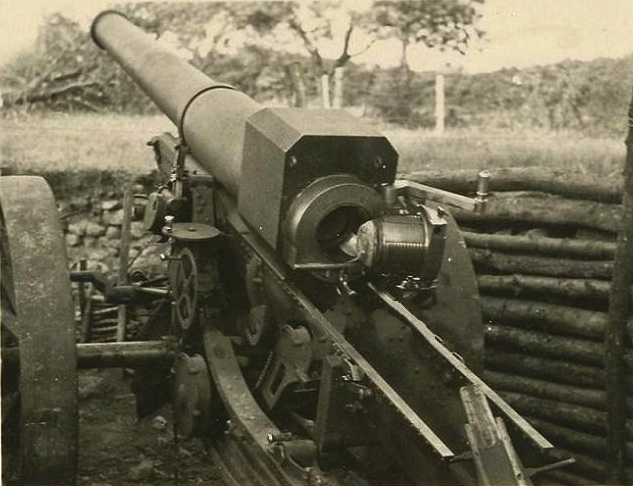 Canon de 155 L modèle 1917 Schneider (site landships.info)