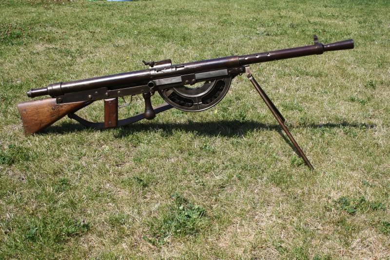 Le fusil-mitrailleur Chauchat (site tircollection.com)