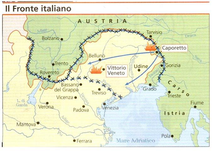 Le front italien (Site verdun-meuse.fr)