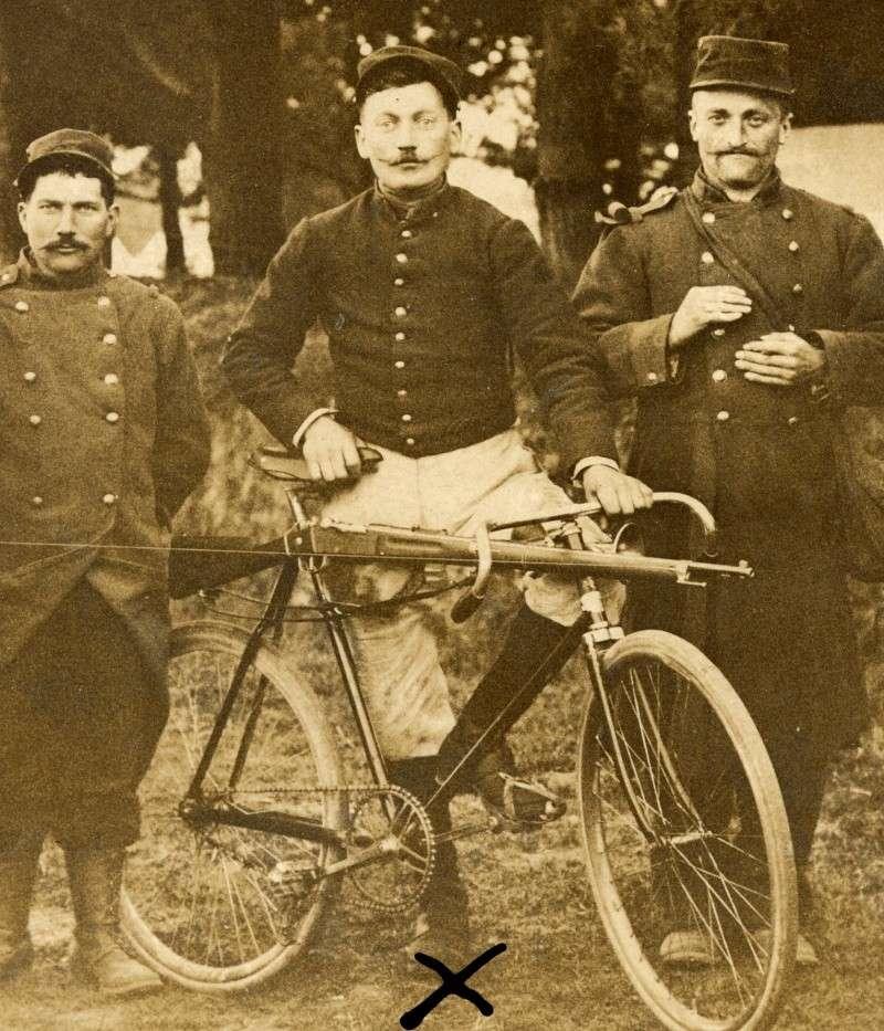 Le cycliste Paul Lauvel, a priori du 23 RI (site gcc14-18)
