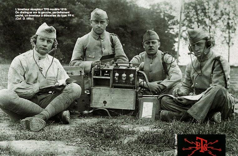 Emetteur récepteur TPS modèle 1918 (site j28ro.blogspot.fr)